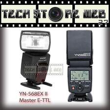 Yongnuo YN-568EX II Flash Speedlite per Canon EOS  5DIV 6D 7D 700D 77D 800D etc.