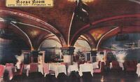 Postcard Horse Room Hotel Fort Pitt Pittsburgh PA