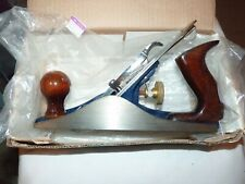 RECORD   NO 4 PLANE -  WOODEN HANDLES - VERY GOOD  CONDITION - NEVER USED?