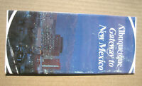 "1970's  ALBUQUERQUE ""Gateway to New Mexico"" TOURIST BROCHURE Pamphlet travel map"