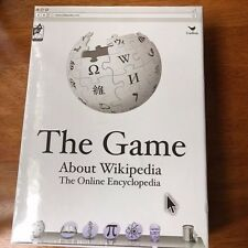 Wikipedia the Game About Everything Board Game New in Package Sealed