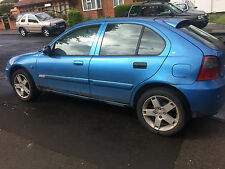 Rover 25 mgzr blue BREAKING for SPARES bid to buy a wheel nut JHG COLOUR CODE