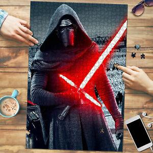 Kylo Ren Saber Star Wars Art Jigsaw Puzzle 1000 pcs
