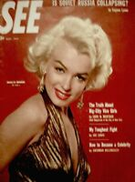 Marilyn Monroe Magazine 1953 SEE Powolny 20th Fox Gentlemen Prefer Blondes VG/EX