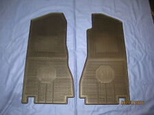 MG LOGO  NEW  PAIR MGB ROADSTER OR GT 4 SYNCHRO. RUBBER FOOTWELL MATS    *** j3c