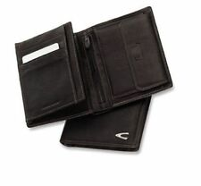 Leather Trifold Wallets for Men Camel Active