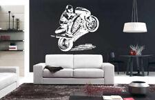 Wall Sticker Bedroom Decal Sport Dirt Bike Ride Motorcycle Jump Nursery bo2929