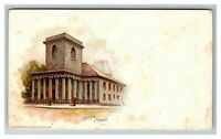 King's Chapel, Boston MA, Private Mailing Card c1902 Postcard L18