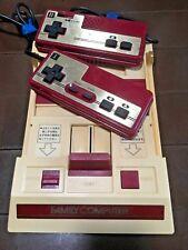 RARE SQUARE BUTTON FAMICOM Original Nintendo Game Console