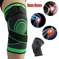 Knee Brace Sleeve Compression Stabilizer Support Sports Joint Pain Relief Wrap