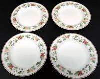 """Lot of 4 Wedgwood Provence Queensware Bread and Butter Plates 6"""" England 1990"""