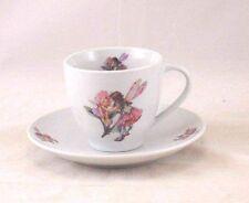 Tea / Coffee Cut w/ Saucer -  Sweet Pea Fairy -  Reutter Porcelain 74.074/7