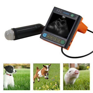 MSU3 Veterinary Ultrasound Machine - Pregnancy Detection in dogs, pigs, goats...