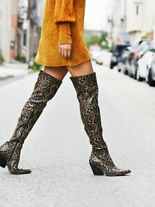 New Free People Collins Tall Western Boot size 6 MSRP: $228