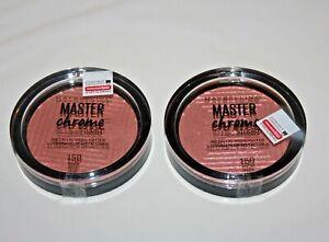 Maybelline Face Studio Master Chrome Metallic Highlighter #150 Lot Of 2 Sealed