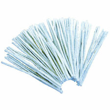 RVFM Pipe Cleaners White 15cm - Pack of 100