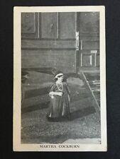 Vintage Circus Postcard - Martha Cockburn - Little People Midget