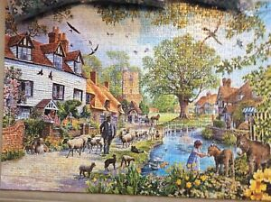 Four Seasons 4 in 1 Jigsaw Limited Edition  4 x 1000 Pieces