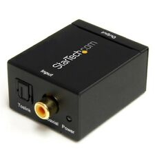 StarTech SPDIF2AA SPDIF Digital Coaxial or Toslink Optical to Stereo RCA Audio C