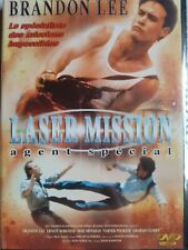 C62 DVD LASER MISSION agent spécial Brandon LEE neuf sous cello