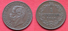 MONETA COIN REGNO D'ITALIA RE VITTORIO EMANUELE II° 1 CENTESIMO 1867 - MILANO #4