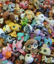 Littlest Pet Shop random Lot of 5 pets LPS mouse Dog Cat Fairy & More Authentic