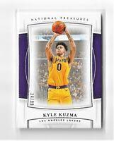 2019-20 National Treasures /99 Kyle Kuzma #27 Los Angeles Lakers NBA Finals
