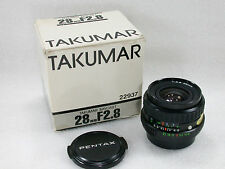 PENTAX Wide Angle Vintage Camera Lenses