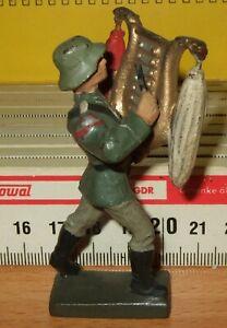 Lineol Soldat Musiker Schellenbaum spielend im Marsch - guter Zustand - Ansehen