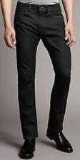 """NEW MEN'S SLIM LEG BLACK JEANS 46"""" WAIST 31"""" LENGTH MARKS & SPENCER AUTOGRAPH"""