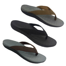 Mens Shoes Lorella Surf Orthotic Thong Arch Support 3 colours Size 7-13 NEW