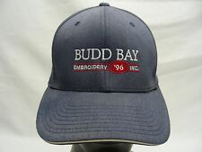 BUDD BAY - EMBROIDEREY '96 - S/M SIZE FLEXFIT BALL CAP HAT!