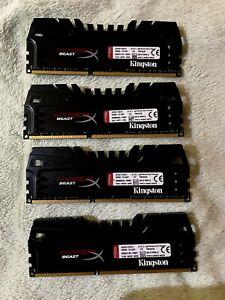 32GB (8gb x 4) Hyper Beast Kingston DDR3 Memory 2400 Mhz