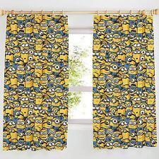 Despicable Me Minions 168cm x 137cm Cortinas Nuevas Dormitorio Infantil