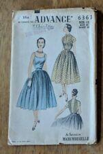 Advance Sewing Pattern No. 6363 Size 12 Bust 30 Waist 25 - Blouse, Skirt