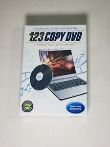 123 Copy DVD - 2012 for Windows NEW FACTORY SEALED