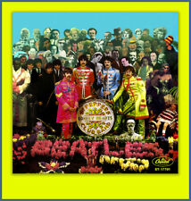 THE BEATLES- SGT. PEPPER  FANTASY 45 PICTURE SLEEVE #2 **COLORED VINYL SERIES**
