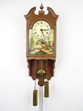 Antique Warmink WUBA Dutch Vintage Wall Clock (Junghans Hermle Kienzle era)