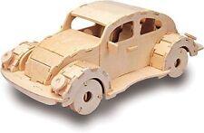 VW Beetle - QUAY Woodcraft Car Construction Kit Wooden 3D Model Kit M011 Age 7+