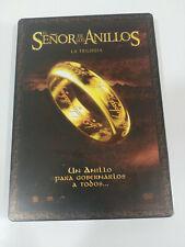 Le Seigneur de Los Anneaux la Trilogie - 6 X DVD Boite Steelbook Espagnol