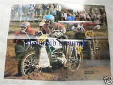 MS7508 P35 SUPER POSTER S.SCHERBININ EN E.NETSCHIPURENKO URAL MOTOCROSS,TOMOS