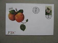 FINLAND, cover FDC 2005, fruit apple blossem