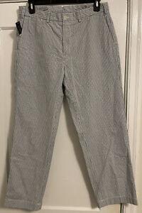 NWT Polo Ralph Lauren Seersucker Preston Fit Pants Men's Sz 34 x 30!