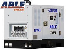 6kVA MAX 7kVA DIESEL GENERATOR RATED  AUSTRALIAN DESIGN  CLEAN SINE WAVE THD <5%