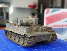 Pro Built German Tiger Tank Ausf.E 1/35 scale Model