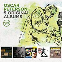 OSCAR PETERSON - 5 ORIGINAL ALBUMS 5 CD NEU