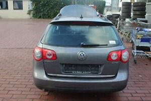 VW Passat 3C Heckklappe ohne Anbauteile Farbe grau 32360