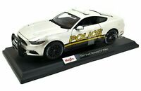 Maisto 1:18 2020 Special Edition - Pearl White Police Ford Mustang GT EXCLUSIVE