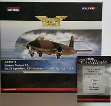 Corgi Aviation Gloster Meteor F8 RAF Horsham AA35011 Certificate No 1250 of 1250