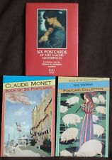 2 X MAGNA POSTCARD BOOKS MONET & THE VIENNA COLLECTION + 6 TATE GALLERY CARDS